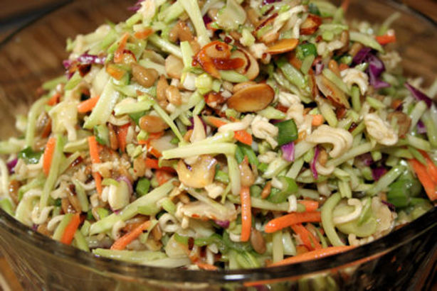 Broccoli Slaw Ramen Noodle Salad Recipe