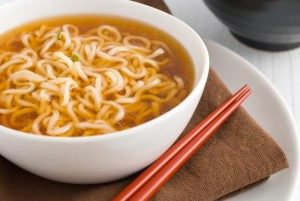 Microwaveable Ramen Egg Drop Soup