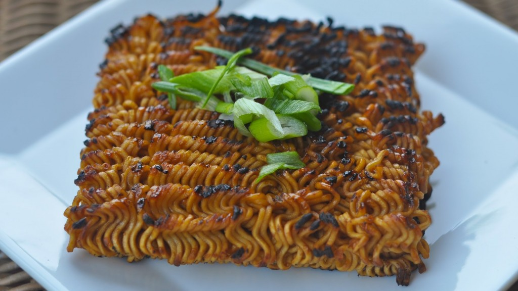 Grilled Ramen Noodles Recipe