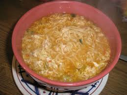 Ramen Noodle Egg Drop Soup Recipe